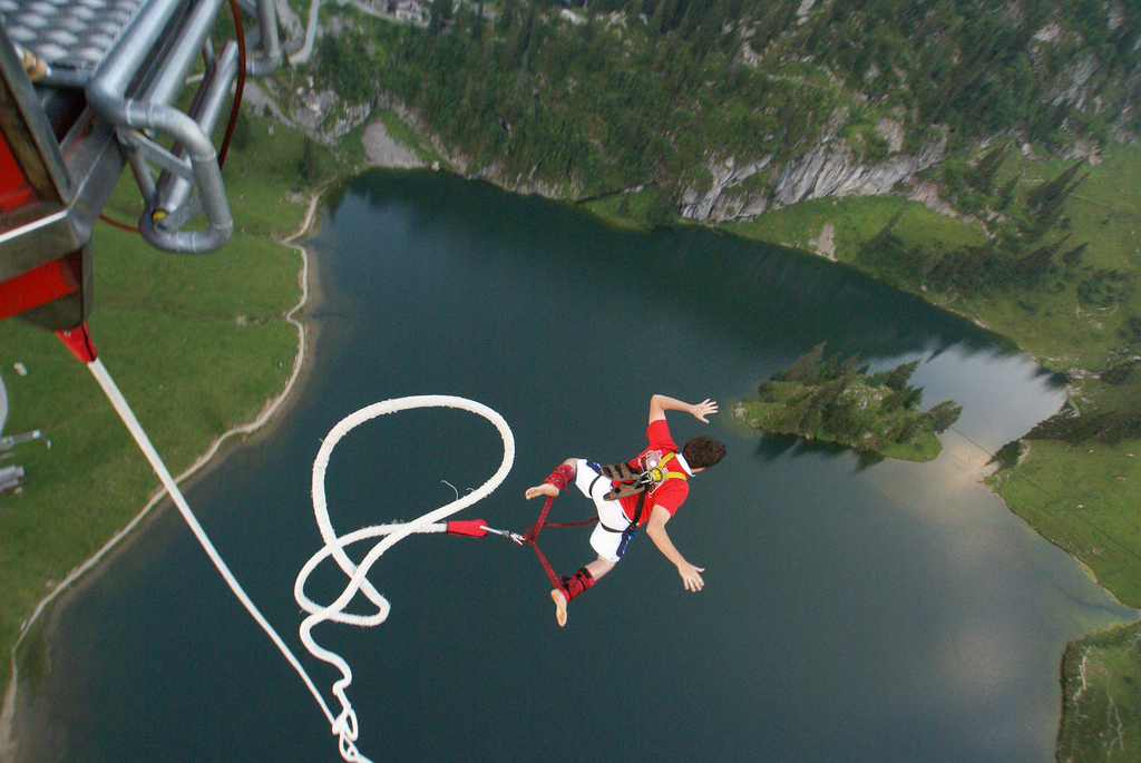 """""""Bungee Jumping"""" by Carla MacNeil on Flickr"""