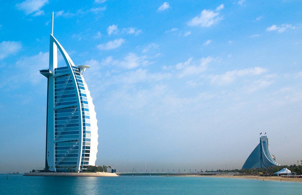 "Credit: ""Burj Al Arab"" by  Joi Ito on Flickr"