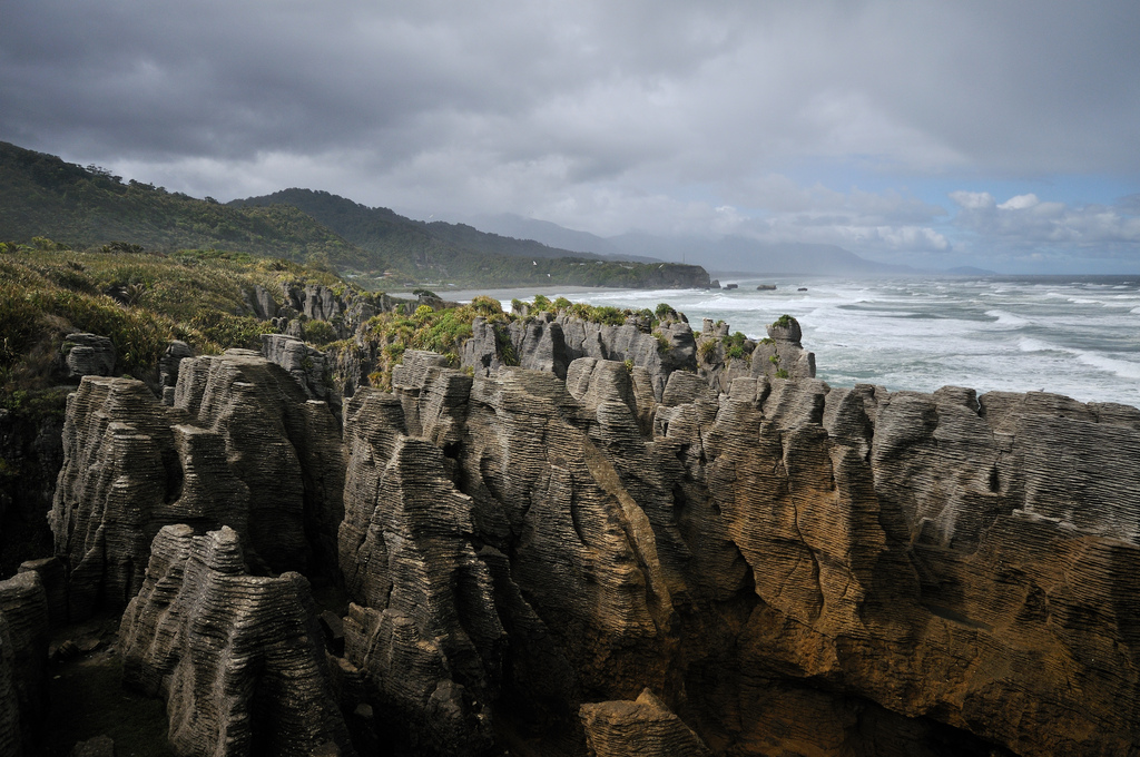 """Punakaiki Pancake Rocks by repoxphoto on Flickr"