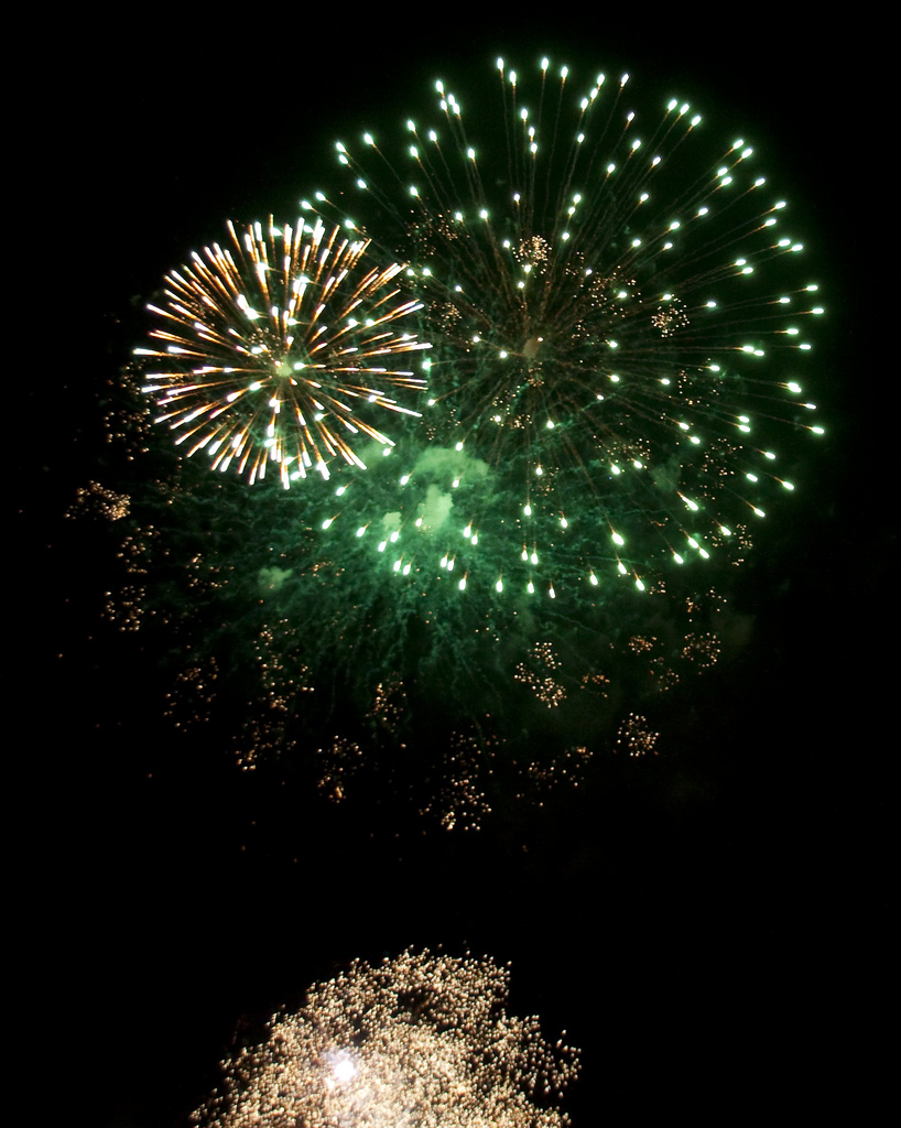 "Credit: ""New Year Fireworks Birmingham by Tony Hisgett on Flickr"