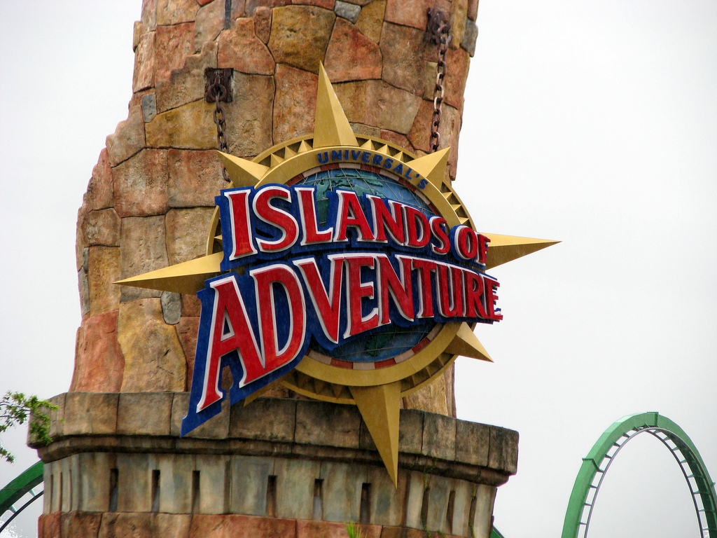 """Photo Credit: """" Islands of Adventure""""by Robert Linsdell on Flickr"""