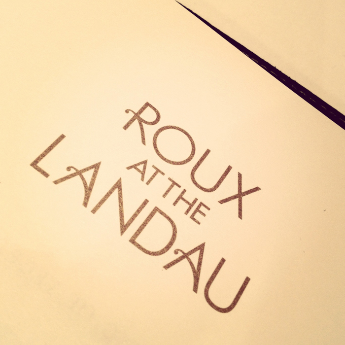 "Photo Credit: ""Roux at the Landau"" by designrestaurants.com"