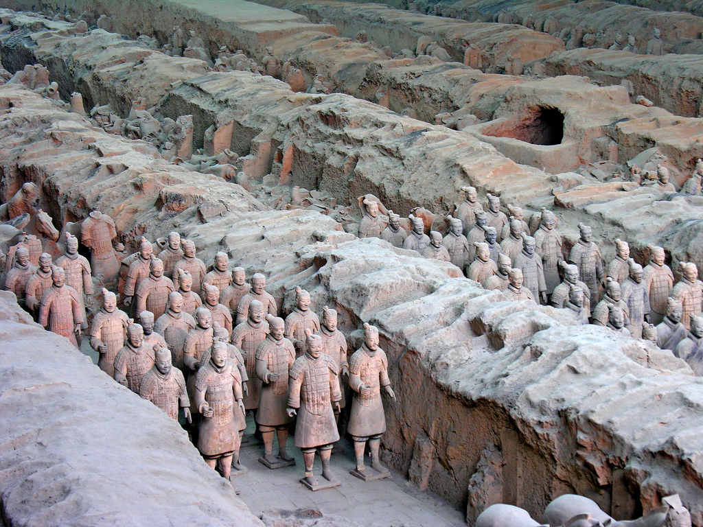 """Photo Credit: """"Terracotta Army"""" by Dennis Jarvis on Flickr"""