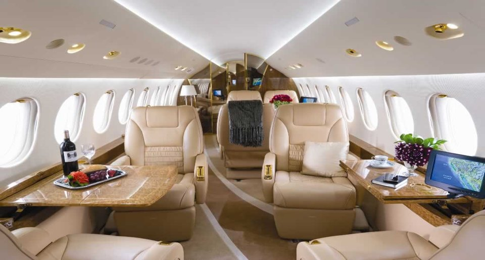 Private-jet-interior
